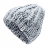 The North Face Women ' S Chunky Knit Beanie - Tnf Light Grey Heather / Tnf Black Multi