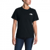 The North Face Women ' S Red Box Short Sleeve Tee - Tnf Black / Tnf Red