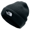 The North Face Youth Tnf Logo Box Cuffed Beanie - Tnf Black