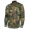 World Famous Men ' S Button Down Camo Long Sleeve Shirt - Northwoods Ghost Camo