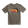 The North Face Youth Boy ' S Short Sleeve Tri - Blend Tee - New Taupe Green
