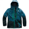 The North Face Men ' S Chakal Jacket - Blue Wing Teal / Tnf Black