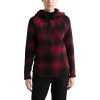 The North Face Women ' S Printed Crescent Hooded Pullover - Tnf Red Hombre Small Print