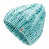 The North Face Women ' S Chunky Knit Beanie - Windmill Blue / Vintage White Multi