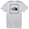 The North Face Men ' S Short - Sleeve Archived Tri - Blend Tee - Light Grey
