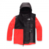 The North Face Youth Boy ' S Fresh Track Triclimate Jacket - Fiery Red
