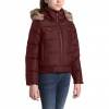 The North Face Youth Girl ' S Gotham Down Bomber Jacket - Deep Garnet Red