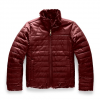 The North Face Youth Girl ' S Reversible Mossbud Swirl Jacket - Deep Garnet Red