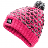 The North Face Youth Girl ' S Chunky Pom Beanie - Mr . Pink Multi
