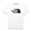 The North Face Men ' S Short Sleeve Half Dome Tee - Tnf Black / Tnf White