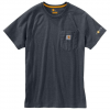 Carhartt M Force Cotton Delmont S / S Tee - Electric Red