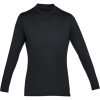Under Armour Men ' S Coldgear Armour Fitted Mock - Black