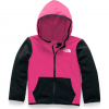 The North Face Toddler Glacier Full - Zip Hoodie - Mr . Pink