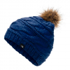 The North Face Triple Cable Fur Pom - Flag Blue