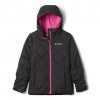 Columbia Girl ' S Youth Casual Slopes Jacket - Black Heather