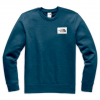 The North Face Men ' S Heritage Crew - Blue Wing Teal