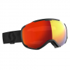Scott Men ' S Faze Ii Snowsports Goggle - Black / Enhancer Red Chrome