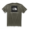 The North Face Men ' S Short Sleeve Red Box Tee - New Taupe Green