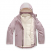 The North Face Youth Girl ' S Fresh Tracks Triclimate Jacket - Ashen Purple