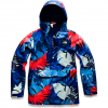 The North Face Women ' S Tanager Jacket - Flag Blue Palms Print