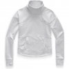 The North Face Women ' S Motivation Fleece Mock Neck Pullover - Tnf Light Grey