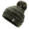 The North Face Nanny Knit Beanie - Green / Grey / Multi