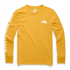 The North Face Women ' S Long Sleeve Brand Proud Tee - Golden Spice