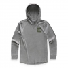 The North Face Youth Boy ' S Tri - Blend Pullover Hoodie - Shady Blue