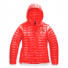 The North Face Women ' S Thermoball Eco Hoodie - Fiery Red