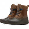 The North Face Women ' S Shellista Iii Shorty Boots - Demitasse Brown / Carafe Brown