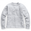 The North Face Women ' S Crescent Sweater - Tnf Light Grey Heather