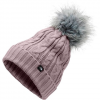 The North Face Women ' S Oh - Mega Fur Pom Beanie - Ashen Purple