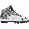 Under Armour Men ' S Deception Mid Rm Baseball Cleat - Black / Charcoal