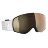 Scott Men ' S Vapor Ls Snowsports Goggle - White / Light Sensitive Bronze Chrome