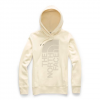 The North Face Women ' S Trivert Patch Pullover Hoodie - Vintage White