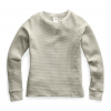 The North Face Women ' S Long Sleeve Chabot Crew - Dove Grey