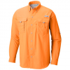Columbia Men ' S Pfg Bahama Ii Long Sleeve Shirt - Jupiter