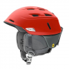 Smith Men ' S Camber Snowsports Helmet - Matte Rise / Charcoal
