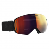 Scott Men ' S Lcg Evo Snowsports Goggle - Black / Solar Red Chrome