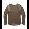 The North Face Women ' S Essential Long Sleeve Tee - New Taupe Green
