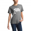 The North Face Women ' S Short Sleeve Bearinda Tri - Blend Tee - Tnf Medium Grey Heather