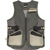 The Allen Co Shot Tech Shooting Vest With Recoil Pad - Grey