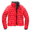 The North Face Women ' S Holladown Crop Jacket - Tnf Red