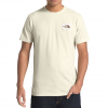 The North Face Men ' S Short Sleeve Heritage Tri - Blend Tee - Vintage White Heather
