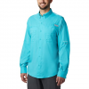 Columbia Men ' S Pfg Tamiami Ii Long Sleeve Shirt - Island Orange