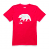 The North Face Women ' S Short Sleeve Bearinda Tri - Blend Tee - Tnf Red Heather