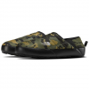 The North Face Men ' S Thermoball Eco Traction Mule V - Burnt Olive Green Woodland Camo Print / Tnf