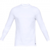 Under Armour Men ' S Coldgear Armour Fitted Mock - White
