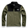 The North Face Youth Boy ' S Glacier 1 / 4 Snap Fleece - New Taupe Green