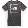 The North Face Men ' S Short - Sleeve Archived Tri - Blend Tee - Dark Grey